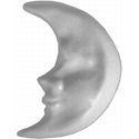 Moon Shaped Knob, Moon and Stars Nursery Decor | Moon and Stars Wall Decals | ABaby.com
