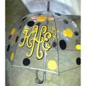 Monogrammed Polka Dot Umbrella, Baby Shower Gift Sets | Baby Shower Favors | ABaby.com