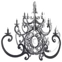 Mirror Fancy Chandelier