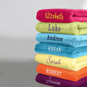 Personalized Bath Towel