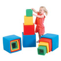 Set of Four Colorful Nest And Stack Boxes, Soft Play Toys | Baby Jogger | Fitness Toys | ABaby.com
