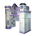 Neuschwanstein Castle Bunk Bed , Princess Themed Nursery | Girls Princess Bedding | ABaby.com