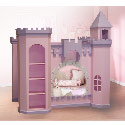 Guinevere Bunk Bed, Princess Themed Nursery | Girls Princess Bedding | ABaby.com