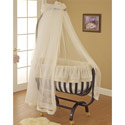 Gabriella Cradle, Wooden Bassinet | Antique Cradles | ABaby.com