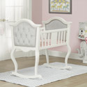 Lola Cradle, Wooden Bassinet | Antique Cradles | ABaby.com