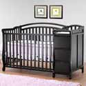 Eva Crib N Bed with Changer, Davinci Convertible Cribs | Convertible Baby Furniture | ABaby.com