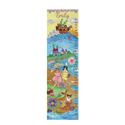 By The Sea Girl Growth Chart, Tropical Sea Nursery Decor | Tropical Sea Wall Decals | ABaby.com