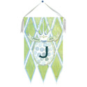 Modern Prince Wall Hanging, Princess Nursery Decor | Princess Wall Decals | ABaby.com