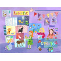 Pick A Pet Stretched Art, Kids Wall Murals | Oversized Artwork | ABaby.com