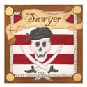 Pirate Stretched Art, Pirates Artwork | Pirates Wall Art | ABaby.com