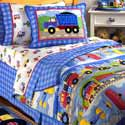 Trains, Planes and Trucks Twin Bedding, Twin Bed Bedding | Girls Twin Bedding | ABaby.com