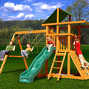 Congo Outing lll Swing Set, Kids Swing Sets | Childrens Outdoor Swing Sets | ABaby.com