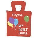 Personalized My Quiet Book, Personalized Kids Toys | Baby Toys | ABaby.com