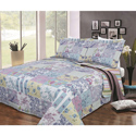 Pastel Floral 3 Piece Quilt Set, Little Girls Twin Bedding Sets | Twin Bedding Collection | aBaby.com
