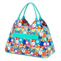 Personalized Poppy Beach Bag