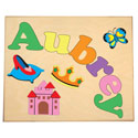 Personalized Princess Name Puzzle