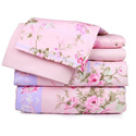Pink Floral Printed Sheet Set, Little Girls Twin Bedding Sets | Twin Bedding Collection | aBaby.com