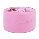 Pink Mossy Oak Round Foam Ottoman, Buy Kids & Toddler Chairs Online | Recliner | Rocking Chairs | Armchairs