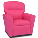 Pink Tween Recliner, Kids Upholstered Chairs | Personalized Toddler Couch | Rocker | Recliner