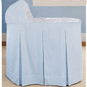 Ric Rac Bassinet Set, Baby Boy Bassinet Bedding | Baby Boy Bedding Sets | ABaby.com