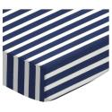 Primary Stripes Cotton Porta Crib Sheet