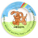 Puppy Name Plate, Baby Birth Plates | ABaby.com