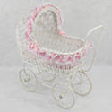 Nicole Doll Play Pram, Baby Doll House | Accessories | Doll Furnitutre Sets
