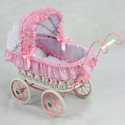 Alexandra Doll Play Pram, Baby Doll House | Accessories | Doll Furnitutre Sets
