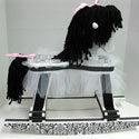 Little Princess Damask Rocking Horse, Kids Rocking Horse | Personalized Rocking Horses | ABaby.com