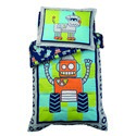 Robot Toddler Bedding Set