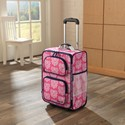 Rolling Luggage - Damask