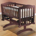 Dondola Cradle, Wooden Bassinet | Antique Cradles | ABaby.com