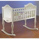 Lisa Cradle, Wooden Bassinet | Antique Cradles | ABaby.com