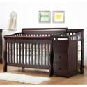 Tuscany 4 in 1 Crib and Changer, Davinci Convertible Cribs | Convertible Baby Furniture | ABaby.com