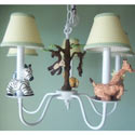 African Plains Safari Chandelier, Nursery Lighting | Kids Floor Lamps | ABaby.com