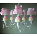 Cupcakes Chandelier, Nursery Lighting | Kids Floor Lamps | ABaby.com