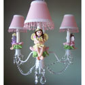 My Fairy Princess Chandelier, Nursery Lighting | Kids Floor Lamps | ABaby.com