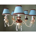 Teddy Time Chandelier, Nursery Lighting | Kids Floor Lamps | ABaby.com