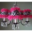 Zebra Chandelier, Nursery Lighting | Kids Floor Lamps | ABaby.com