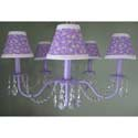 Lilian Lavender Chandelier, Nursery Lighting | Kids Floor Lamps | ABaby.com