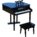 Baby Grand Piano with Matching Bench, Musical Toys | Pianos For Kids | Kids Musical Instruments | ABaby.com
