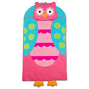 Personalized Lil' Owl Sleeping Bag, Baby Bedding, Crib Bedding, Toddler Bedding Sets, Children's Bedding, Nursery Crib