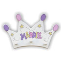 Crown Clothes Hanger, Princess Nursery Decor | Princess Wall Decals | ABaby.com