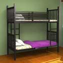 30 Inch Space Saving Metal Bunk Bed, Toddler Iron Bunk Beds | Kids Bunk Beds | ABaby.com