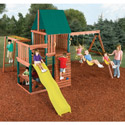 Chesapeake Swing Set, Kids Swing Sets | Childrens Outdoor Swing Sets | ABaby.com
