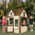 Classic Design Playhouse, Outdoor Toys | Kids Outdoor Play Sets | ABaby.com