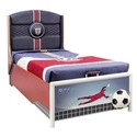 Soccer Storage Bed with Mattress