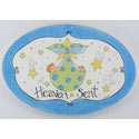 Heaven Sent Boy Plaque, Nursery Rhymes Themed Nursery | Nursery Rhymes Bedding | ABaby.com