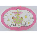 Heaven Sent Girl Plaque, Nursery Rhymes Themed Nursery | Nursery Rhymes Bedding | ABaby.com