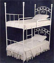 Sweetheart Iron Bunk Bed, Toddler Iron Bunk Beds | Kids Bunk Beds | ABaby.com